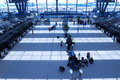 Flygplatskontroll Royaltyfria Bilder