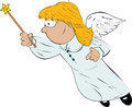 Flying Angel Stock Images