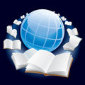 Flying books Royalty Free Stock Photography