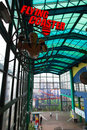 Flying coaster can see outside genting highlands malaysia september the building of resort world genting on sep in genting Stock Photo