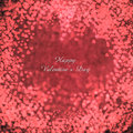 Flying hearts valentine s day or wedding background with Stock Images