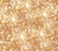 Flying particles abstract gold background with Royalty Free Stock Image