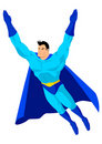 Flying Superhero Stock Images