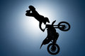 FMX rider performing trick