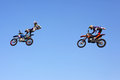 FMX Riders Stock Photography
