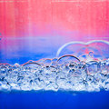 Foam bubbles abstract background Royalty Free Stock Photo
