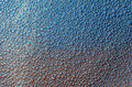 The foam bubbles on blue red background texture