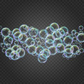 foam, colorful soap bubbles background