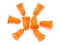 It is Foam ear plugs Royalty Free Stock Photo