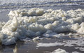 The foam of the sea Royalty Free Stock Photo