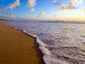 Foam wave porto de galinhas recife brasil Royalty Free Stock Image