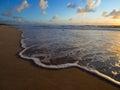 Foam wave porto de galinhas recife brasil Royalty Free Stock Photography