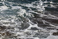 foamy sea waves Royalty Free Stock Photo