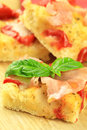 Focaccia Royalty Free Stock Photography