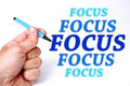 Focus Royalty Free Stock Photo
