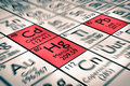 Focus on cadmium, lead and mercury chemical elements