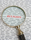 Focus on religion. Royalty Free Stock Image