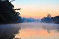 fog in the morning Royalty Free Stock Photography