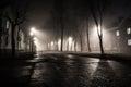 Fog In Night City