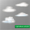 Fog or smoke transparent special effect. White vector cloudiness, mist or smog background. Vector illustration