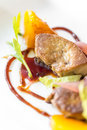Foie gras, grilled Royalty Free Stock Photo