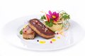Foie gras grilled Royalty Free Stock Photo