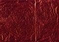 Foil оборачивать красного цвета Стоковое Фото