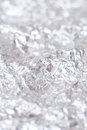 Foil texture abstract silver rough wrinkle background Stock Photography