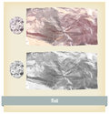 Foil Texture vector Royalty Free Stock Photos