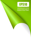 Fold page corner vector illustration Royalty Free Stock Photography
