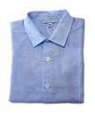 Folded baby boy shirt Royalty Free Stock Photo