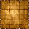 Folded parchment paper Royalty Free Stock Photography