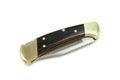 Folded pocket knife