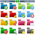 Folder Icons [2] - Robico Series Royalty Free Stock Photography