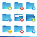 Folder icons set3 Stock Photo