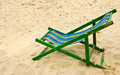Folding chair. Stock Photography