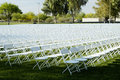 Folding Chairs 1 Royalty Free Stock Image