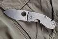 Folding knife Royalty Free Stock Photo