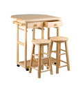Folding and movable table Royalty Free Stock Photo