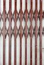 Folding steel door