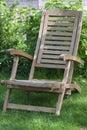 Folding stool Stock Photo