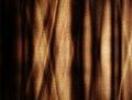 Folds on canvas Stock Photos