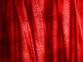 Folds on red canvas Stock Images