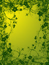 Foliage abstract illustration Royalty Free Stock Photography