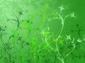Foliage abstract illustration Royalty Free Stock Image