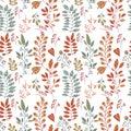 Foliage pattern Royalty Free Stock Photo