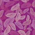 Foliage seamless pattern Royalty Free Stock Photography