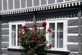 Folk architecture in Zelezny Brod, Czech republic Royalty Free Stock Photo