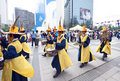 Folk celebrations in Seoul Royalty Free Stock Photos