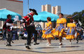 Folk dance show Royalty Free Stock Photo